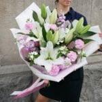 Bukiet Autorski z liliami