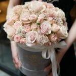 Róże w pudełku
