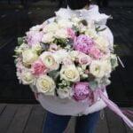Kwiaty w pudełku King size