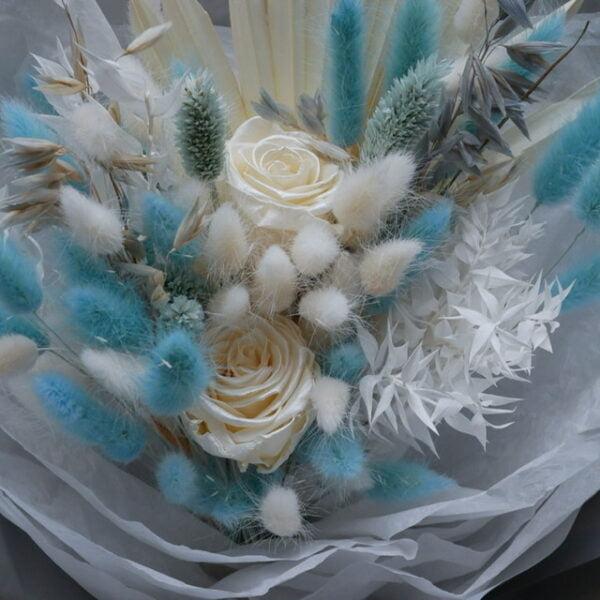 Bukiet kwiatów suszonych